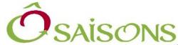le logo de Ô' SAISONS