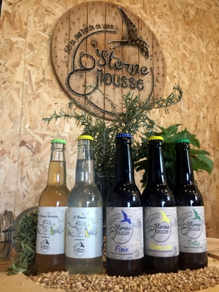 Photo de Sterne & Mousse, membre de Bout à Bout, réseau de réemploi des bouteilles en verre en Pays de la Loire