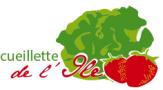 le logo de La cueillette de l'Île