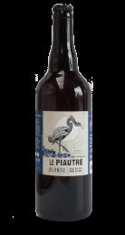 Une bouteille de la gamme de La Piautre