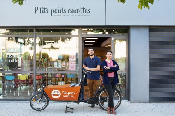 Photo de P'tits poids carottes, membre de Bout à Bout, réseau de réemploi des bouteilles en verre en Pays de la Loire